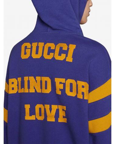 Felpa ml cappuccio st.25 Gucci