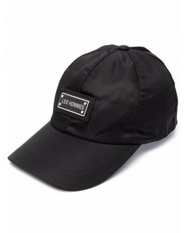 Cappello baseball metal label