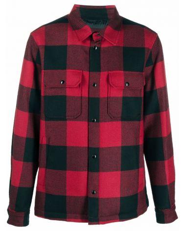 Overshirt lana check Alaskan