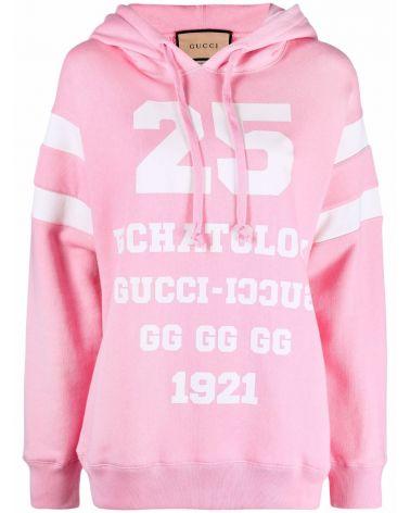 Felpa ml c/cappuccio st.25 Gucci
