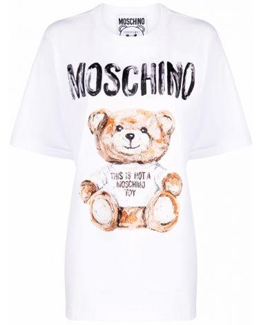 T-Shirt mm giro st.Moschino bear