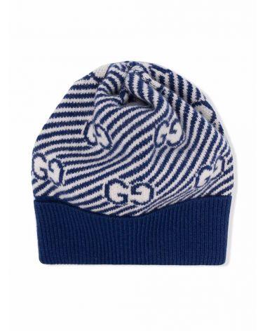 Cappello lana GG