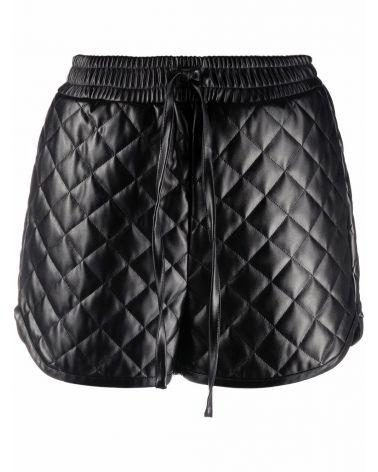 Shorts trapuntato