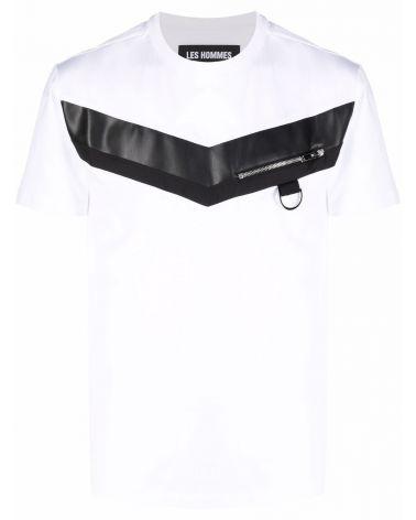 T-Shirt mm giro ins. nylon e pelle