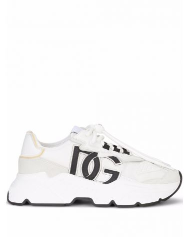 Sneaker bassa crosta + nylon