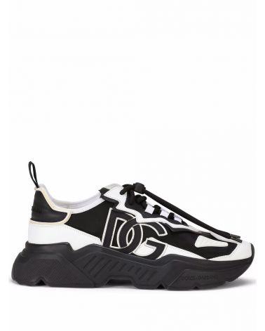 Sneaker bassa nappa + gomma
