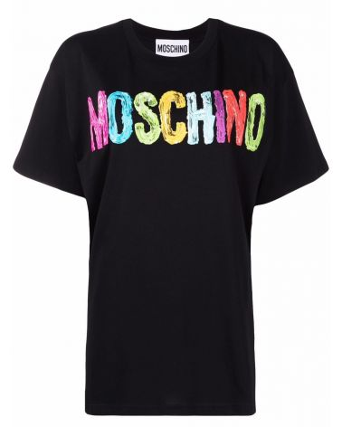 T-Shirt mm giro st.Moschino