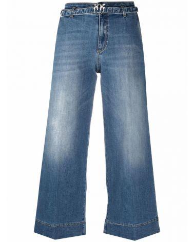 Jeans 5 tasche palazzo Ester