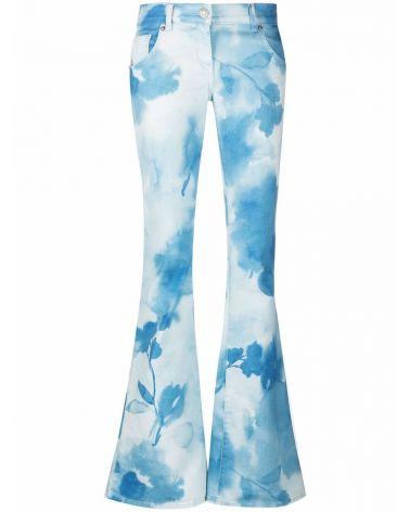 Pantalone jeans zampa