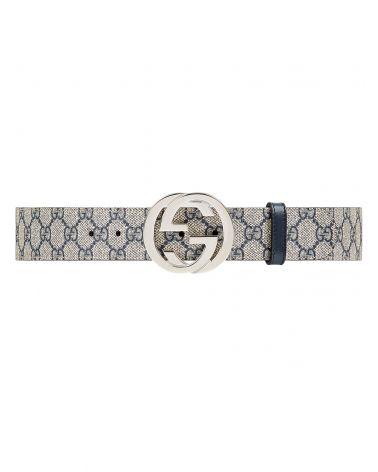 Cintura in tessuto GG Supreme fibbia GG