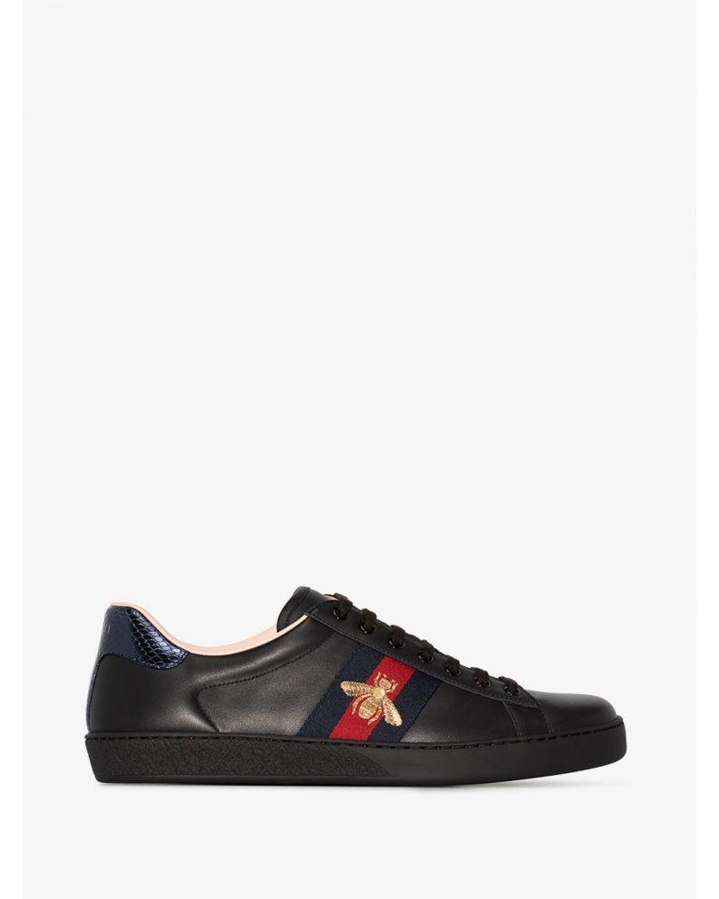 Sneaker Ace ricamata