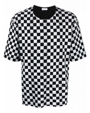 T-Shirt mm st.Allover Damier