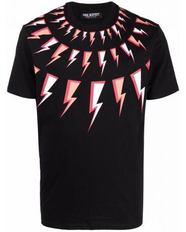 T-Shirt mm giro fair -Isle comic bolts