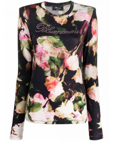 T-Shirt ml giro st.rose