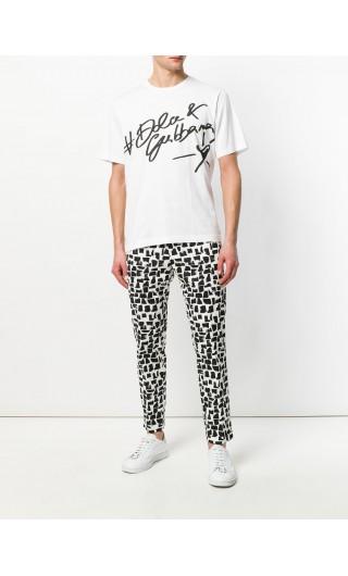 T-Shirt mm giro D&G cuore
