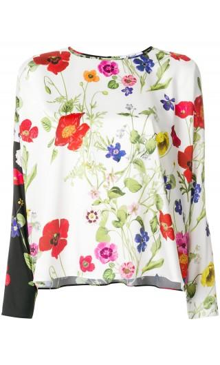 Blusa st.primavera bicolor