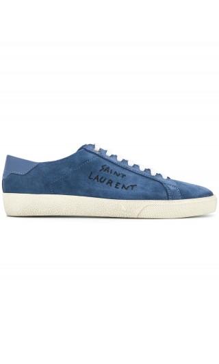Sneakers bassa ricamo Saint Laurent