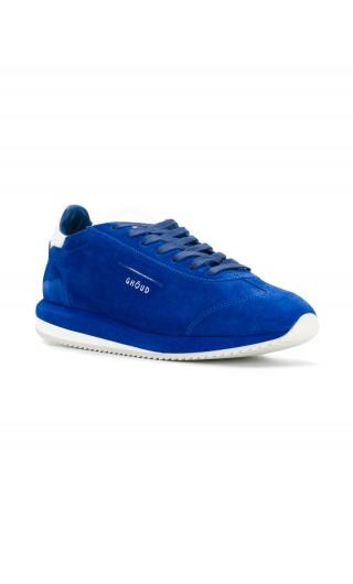 Sneakers suede / pelle