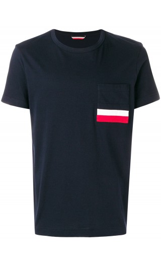T-Shirt mm giro c/taschino