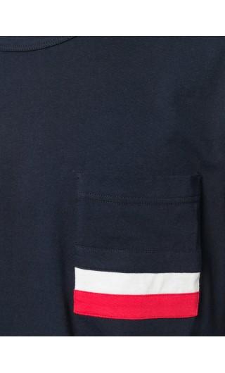 T-Shirt mm giro c/taschino