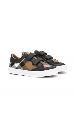SNEAKERS PELLE MOTIVO HOUSE CHECK