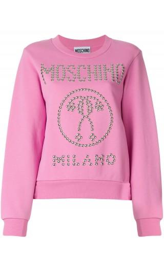 Felpa ml giro Moschino Milano