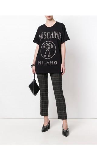 T-Shirt mm giro Moschino Milano