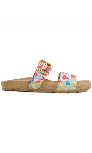 Sandalo lurex patch