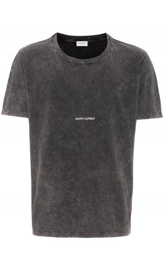 T-Shirt mm giro st.Saint Laurent