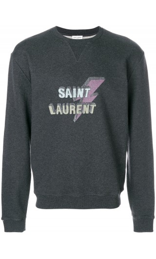 Felpa ml giro st.Saint Laurent