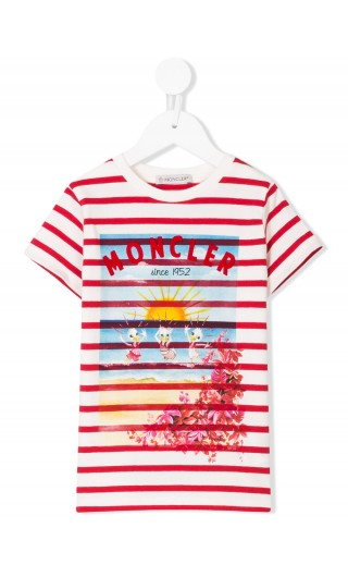 T-Shirt mm giro jersey stretch raye