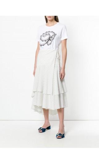 T-Shirt mm giro ricamo B