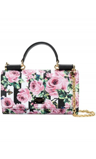 Phone bag st.dauphine rose righe