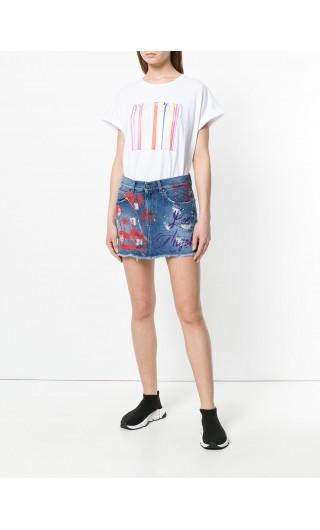 T-Shirt mm giro + applicazioni
