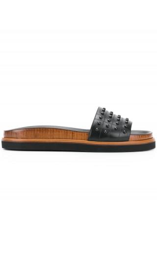 Sandalo fascia gommini