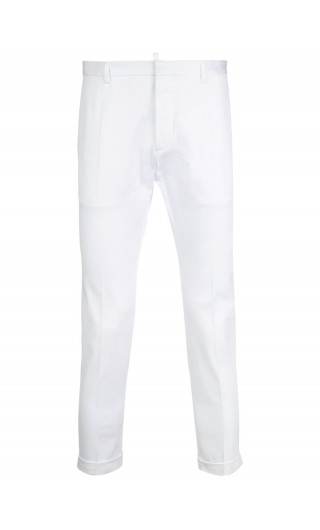 Pantalone stretch twill