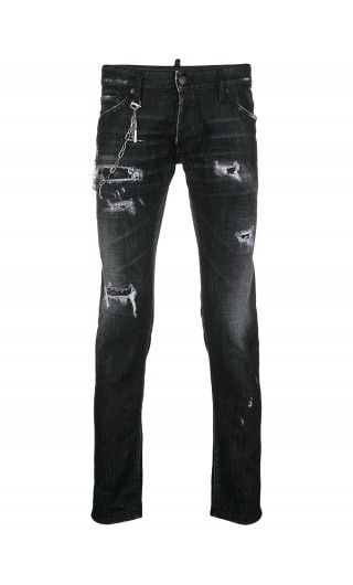 Jeans regular Clement c/buchi