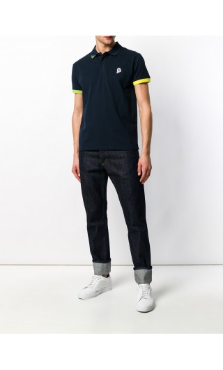 Polo mm piquet stelle stretch
