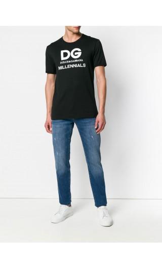 T-Shirt mm giro D&G Millennials