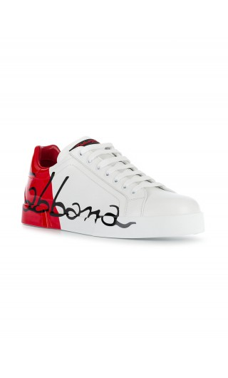 Sneakers bassa basic logo DG