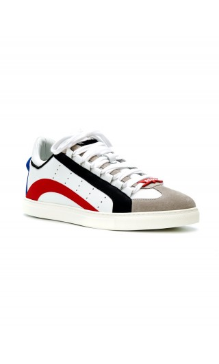 Sneakers Low Sole vitello + gommato