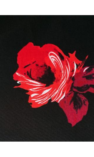 Camicia mm pop.com.rosa patch gomma
