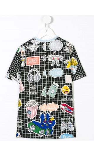 T-shirt mm jersey st.allover