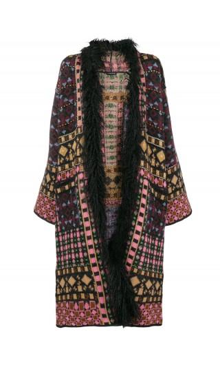 Cappotto maglia Prehnite