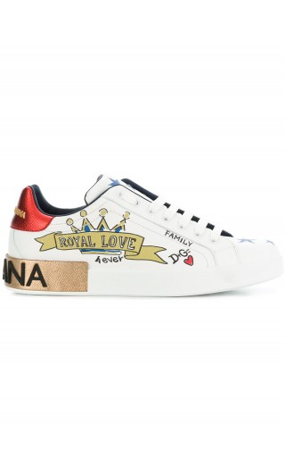 Sneakers nappa st.specchi royal love