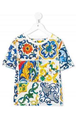 T-Shirt mm giro st. Maioliche