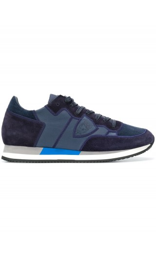 Sneakers Tropez velour broderie