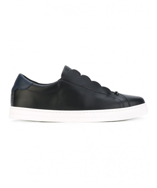 Sneakers vitello rubber sole