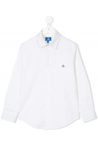 Camicia ml collo logo