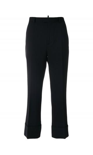 Pantalone svasato lana cady